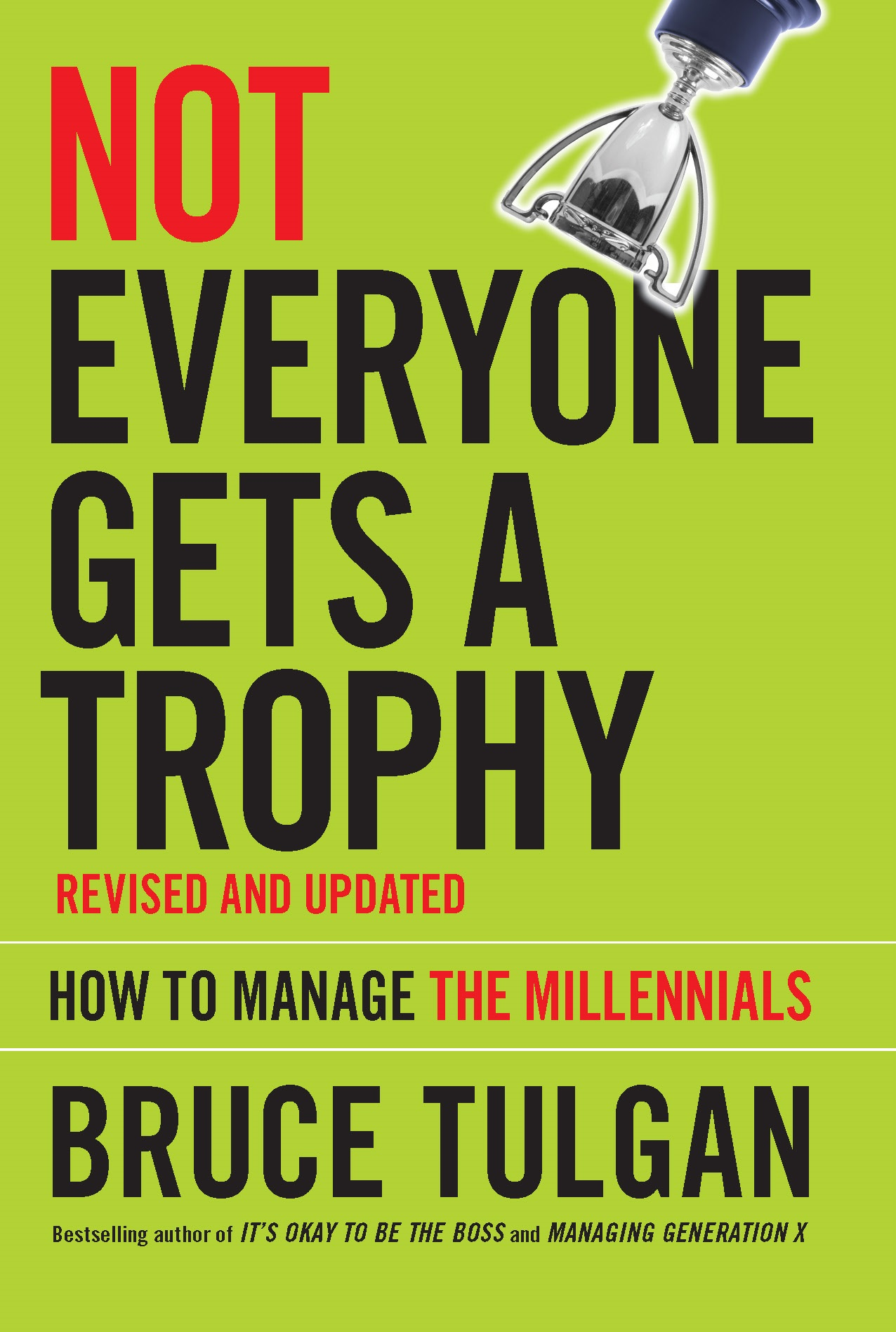 Not Everyone Gets a Trophy -- Cover