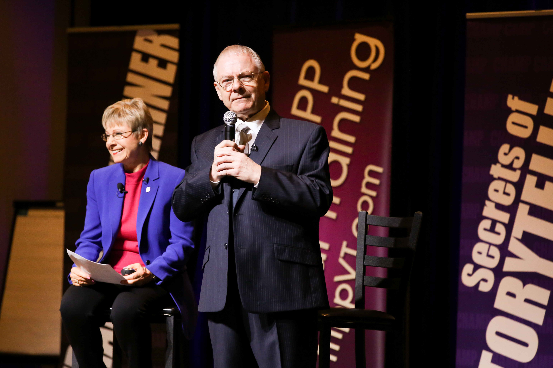 Robert Fripp and Patricia Fripp