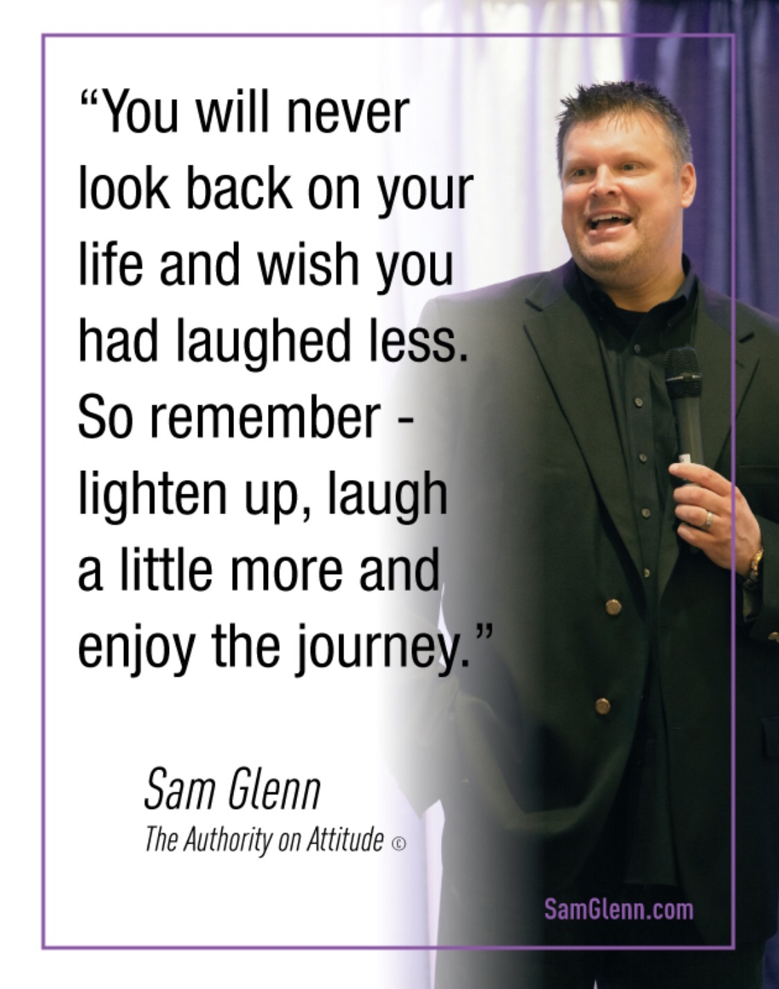 Sam Glenn Quote