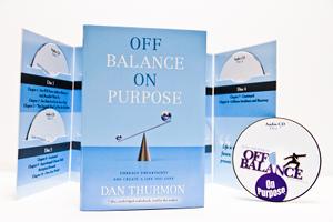Off Balance On Purpose: 7 Disc Audiobook