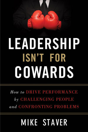 Leadership Isn't For Cowards Cover