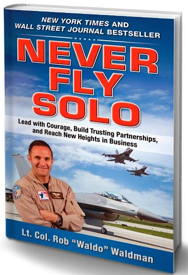 Never Fly Solo - NY Times bestseller