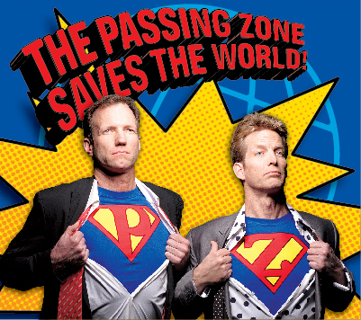 The Passing Zone Saves The World- DVD