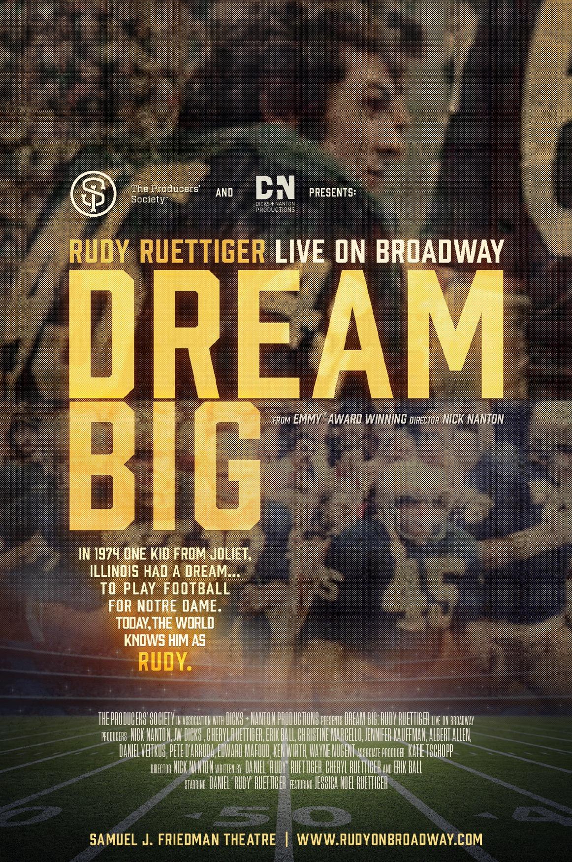 DREAM BIG ON BROADWAY