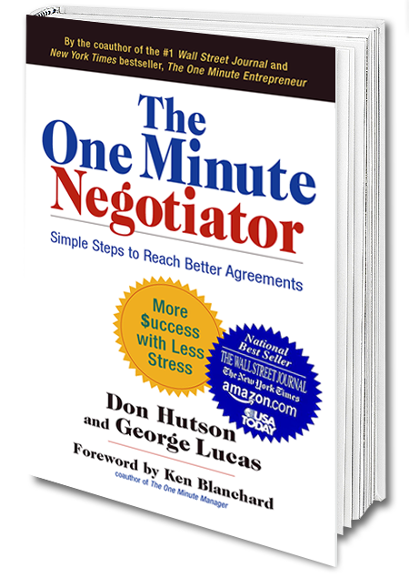 ONE MINUTE NEGOTIATOR