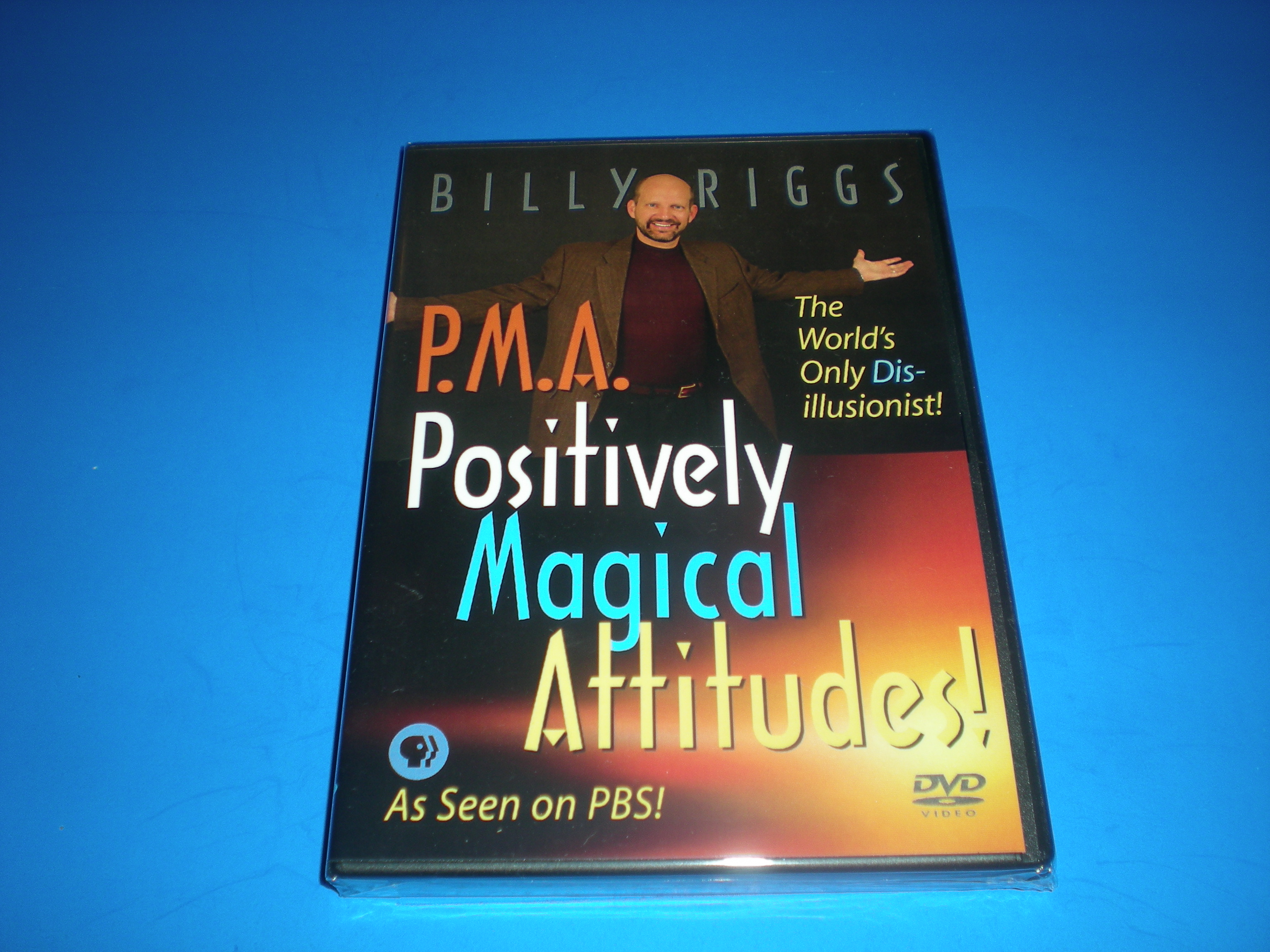 DVD of Billy's PBS Special, The Power of a PMA!