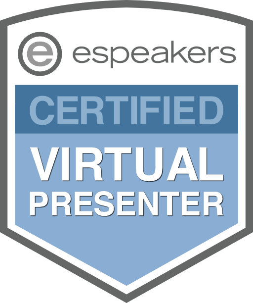 Virtual Certified Speaker logo